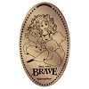 Disney Pressed Quarter - Princess Merida and Three Bear Cubs