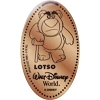 Disney Pressed Penny - Lotso with Walking Cane