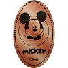 Disney Pressed Penny - Mickey with
