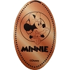 Disney Pressed Penny - Minnie with