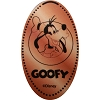 Disney Pressed Penny - Goofy with