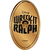 Disney Pressed Penny - Wreck-It Ralph Logo