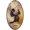 Disney Pressed Penny - Sorcerer Mickey Mouse with Wand
