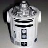 Disney Star Wars Weekends Toy - Create A Droid - R2 Body Black White