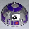 Disney Star Wars Weekends Toy - Create A Droid - R3 Dome Head Purple