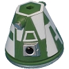 Disney Star Wars Weekends Toy - Create A Droid - R4 Head Green