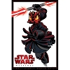 Disney Wall Poster - Star Wars Weekends 2012 Logo Darth Maul Donald