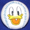 Disney Collectible Baseball - Donald Duck Face Ball
