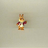 Disney Series 10 Mini Figure - MUPPETS BEAN THE BUNNY