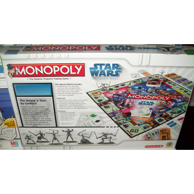 Your wdw store disney monopoly game star wars clone wars edition
