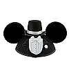 Disney Hat - Ears Hat - Wedding - Groom - Tuxedo