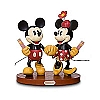 Disney Big Figure Statue - Mickey & Minnie Mouse - A Walk in the Park