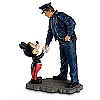 Disney Figurine - Policeman and Mickey Mouse