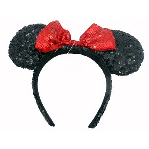 Disney Headband Hat - Sequined Minnie Mouse Ears