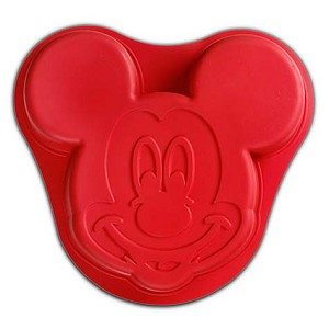 Disney Mickey Mouse Baking Mold - Silicone