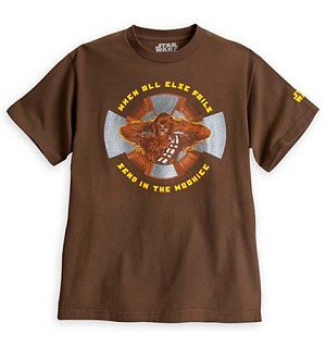 Disney ADULT Shirt - Star Wars Chewbacca Wookie Fails