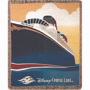 Disney Throw Blanket - Disney Cruise Line