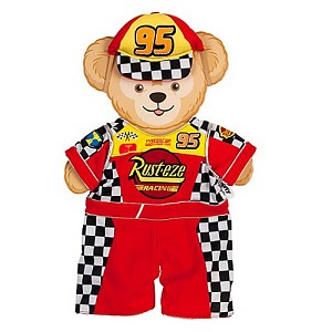 Disney Duffy Bear Clothes - Lightning McQueen Costume