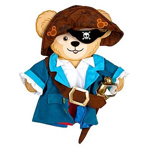 Disney Duffy Bear Clothes - Pirate Costume