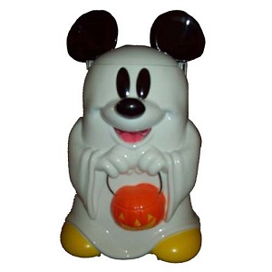 Disney Halloween Popcorn Bucket - Mickey Mouse Trick Or Treat - Ghost