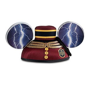 Disney Hat - Ears Hat - Tower of Terror - Twilight Zone Lightning