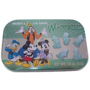 Disney Goofy Candy Co. - Wintergreen Flavored Mints - Mickey & Gang