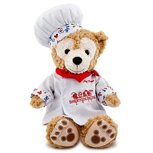 Disney Duffy Bear Plush - Food & Wine 2011 - 12'' H