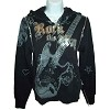 Disney Biker Jacket - Hooded - Aerosmith Rock 'N' Rollercoaster - Stud