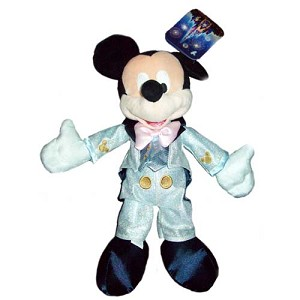Disney Plush - Disney Dream Friends - Mickey Mouse Light Blue Tuxedo