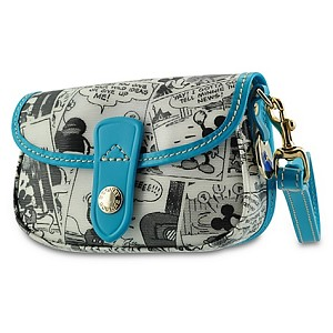Disney Dooney & Bourke Bag - Mickey Comic Wristlet