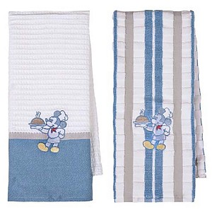 Your WDW Store - Disney Kitchen Towel Set - Gourmet Mickey Mouse