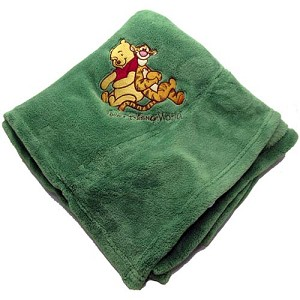 Disney Throw Blanket - Winnie the Pooh and Tigger too!