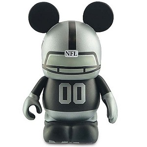 Disney Vinylmation Figure - NFL - Oakland Raiders