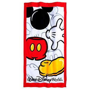 Disney Beach Towel - Best of Mickey Mouse