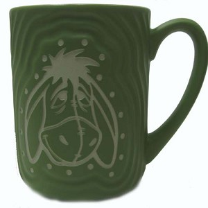 Disney Coffee Cup Mug - Eeyore Face - Sculpted