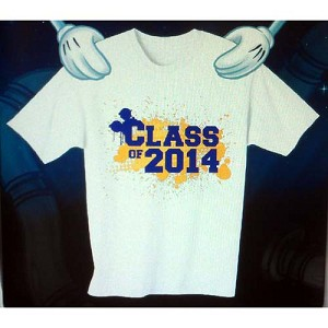 Disney ADULT Shirt - Graduation - Class of 2014