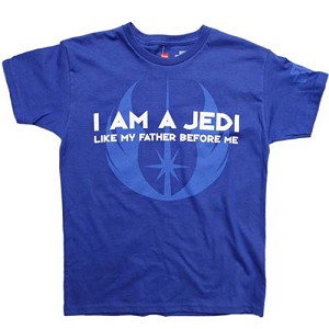 Disney Star Wars Weekends 2012 Shirt - Jedi Like My Father Before Me