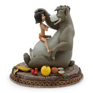 Disney Medium Figure Statue - Jungle Book - Baloo  and Mowgli