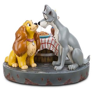 Disney Medium Figure Statue - Lady and the Tramp Bella Notte