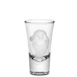 Disney World Shot Glass - Grumpy - by Arribas