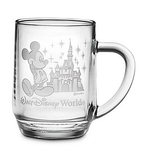 Disney Coffee Mug - Mickey Mouse and Cinderella Castle - by Arribas