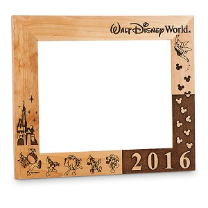 "Disney Picture Frame - Walt Disney World - by Arribas - 8"" x 10"""