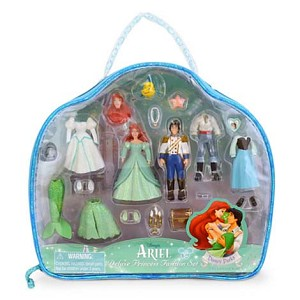 Disney Figurine Set - Deluxe Ariel Fashion Play Set