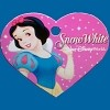 Disney Engraved ID Tag - Princess Snow White on Heart