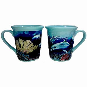 Sea World Mug Coffee Cup - Dolphin Reef