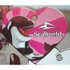 Sea World Engraved ID Tag - Pink Shamu the Killer Whale