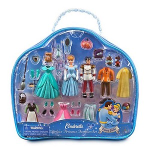 Disney Figurine Set - Deluxe Princess Cinderella Fashion Play Set