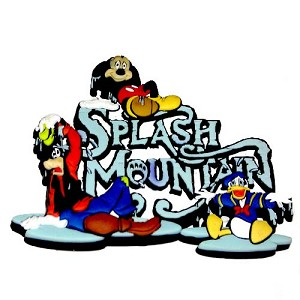 Your WDW Store  Disney Magnet  Splash Mountain Mickey Mouse