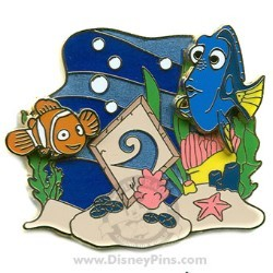 Disney Expedition: PINS - Nemo and Dory Under Water