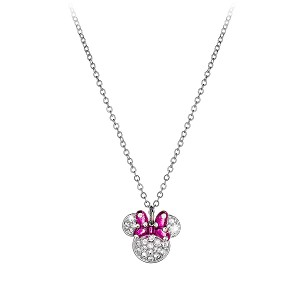 Disney Arribas Necklace - Minnie Mouse Bow Icon
